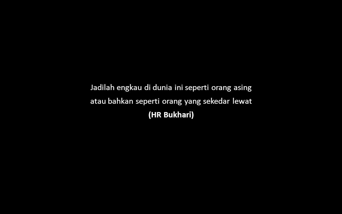 take the chance Allah swt.