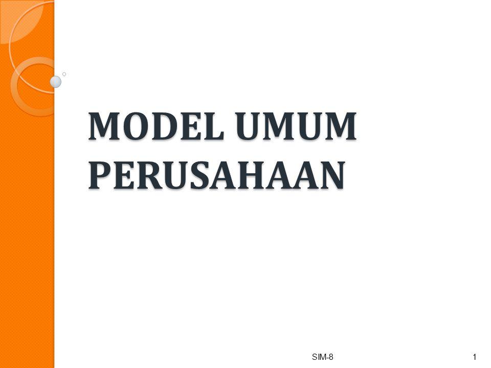 Definisi model Penyederhanaan (abstaction) dari sesuatu.