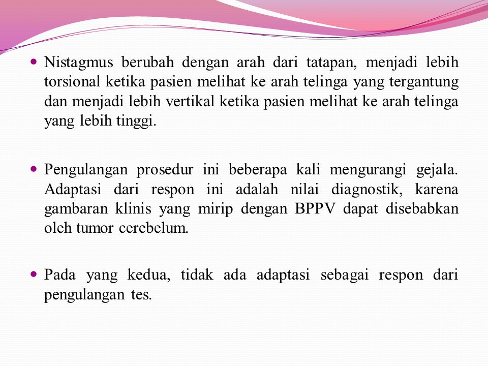 DIAGNOSIS BANDING 1.Migren basiler 2. Iskemia vertebrobasilar 3.