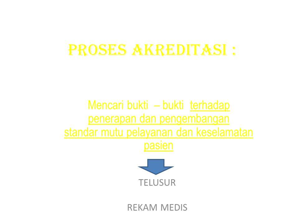 Elemen Penilaian 1.7 TELUSURDOKUMEN SASARAN TELUSURMATERI 1.