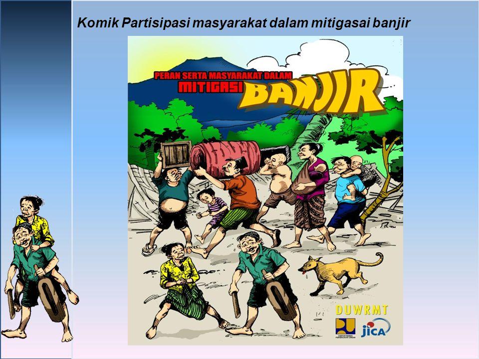 Komik Partisipasi masyarakat dalam mitigasai banjir