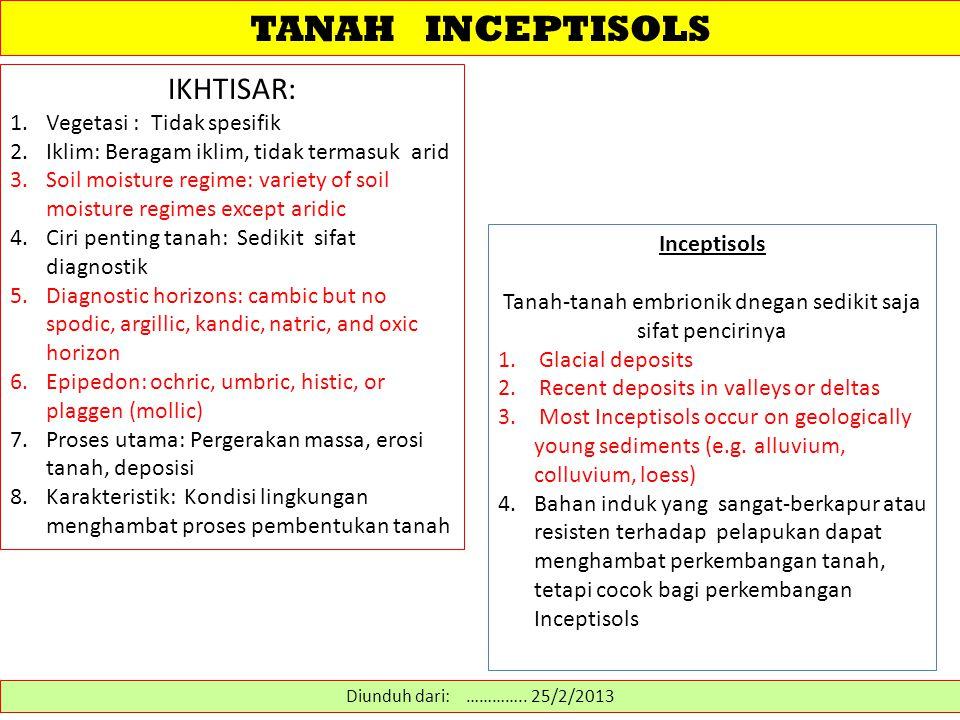 TANAH INCEPTISOLS Diunduh dari: http://blog.ub.ac.id/setiajunior/2012/04/28/tanah-inseptisol/ ……………….