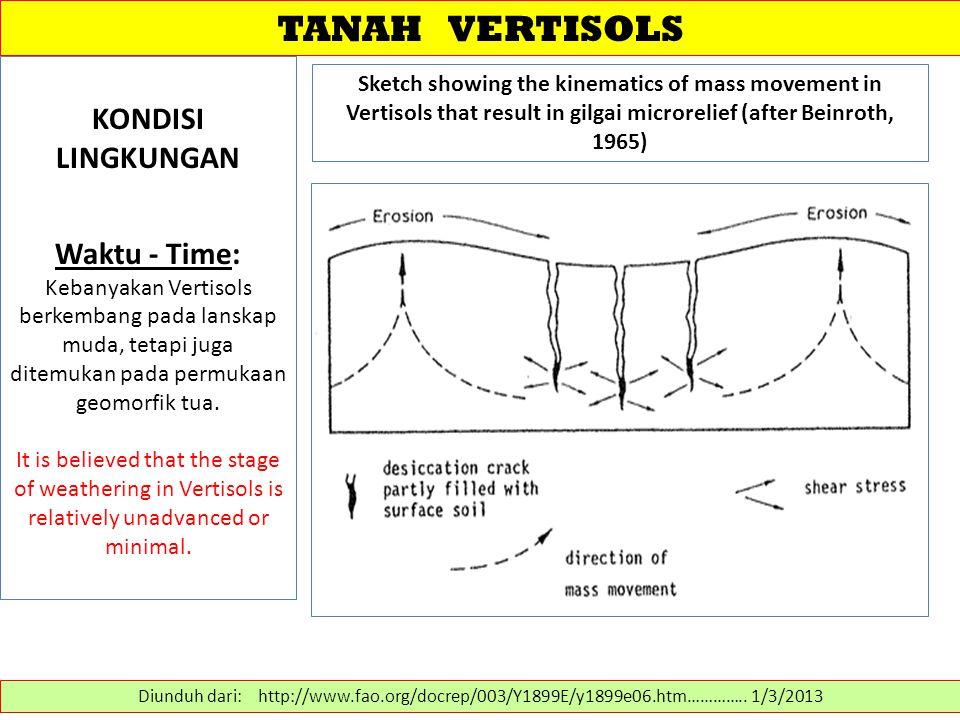 DESKRIPSI PROFIL-TANAH VERTISOLS Diunduh dari: http://natres.psu.ac.th/Link/SoilCongress/bdd/symp12/781-t.pdf …………..