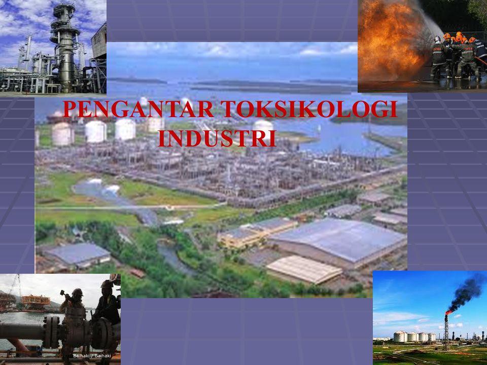 Pengertian Toksikologi merupakan ilmu yang mempelajari pengaruh merugikan suatu zat/bahan kimia pada organisme hidup atau ilmu tentang racun.