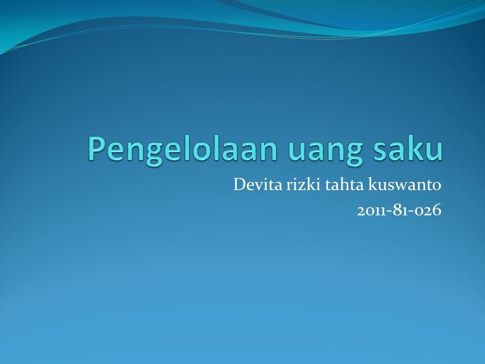 Pemasukan Kiriman orang tua sebesar Rp.1.500.000 Pemasukan dari Rental kendaraan Rp.600.000 x 4 = Rp.2.400.000 Total Pemasukan 3.900.000