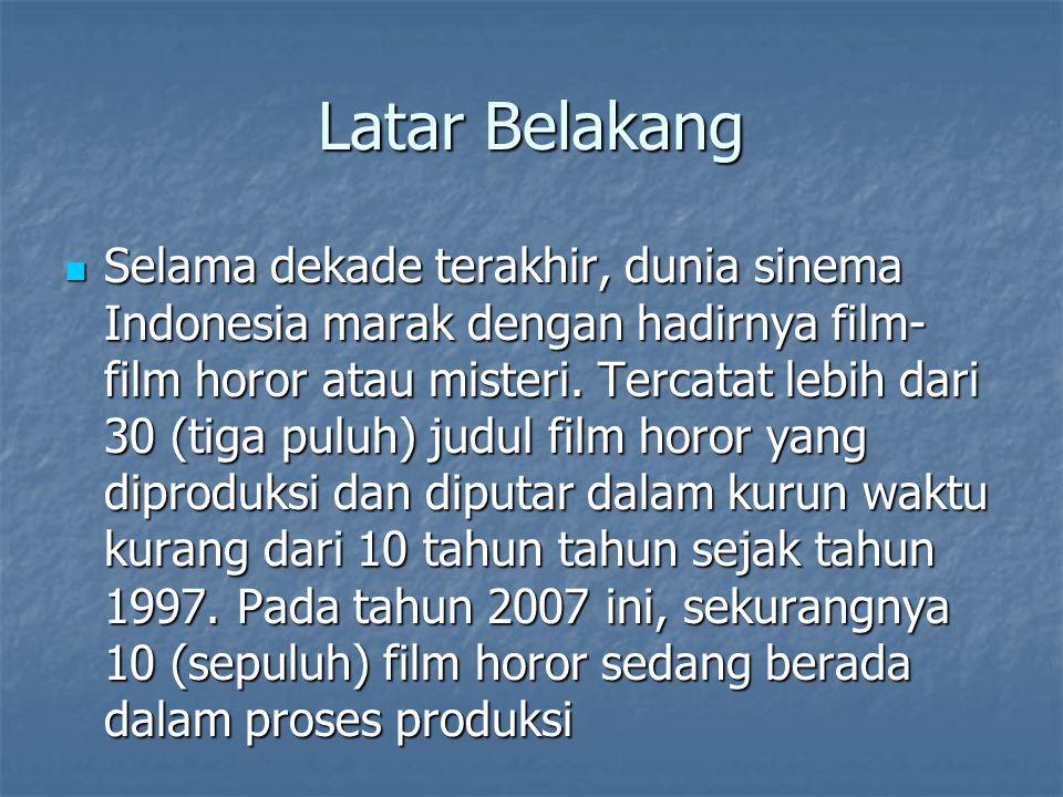 Film Horor Indonesia 10 tahun terakhir 1.Jailangkung 2.
