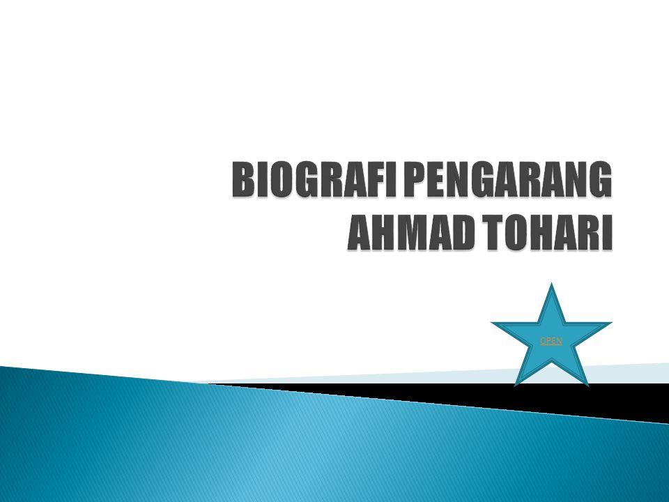 1.AHMAD TOHARI . AHMAD TOHARI . 2. KARYA KARYA 3.