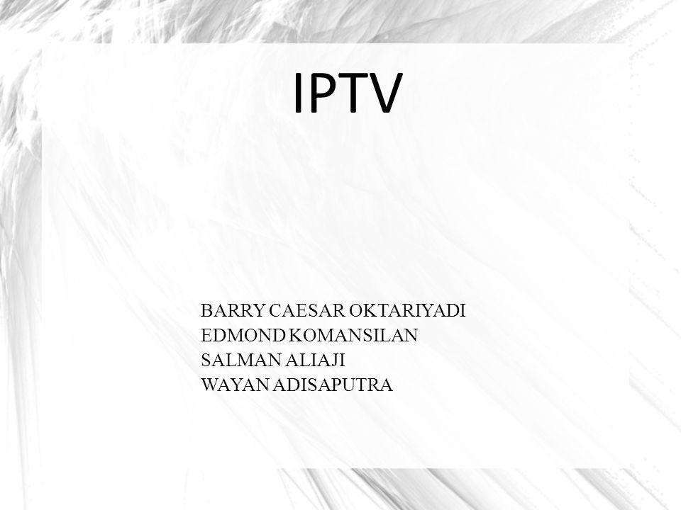 History IPTV PADA 1994, World News Now terbitan American Broadcasting Company (ABC) menjadi program televisi pertama di dunia melalui internet.