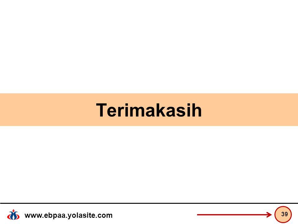 www.ebpaa.yolasite.com Terimakasih 39