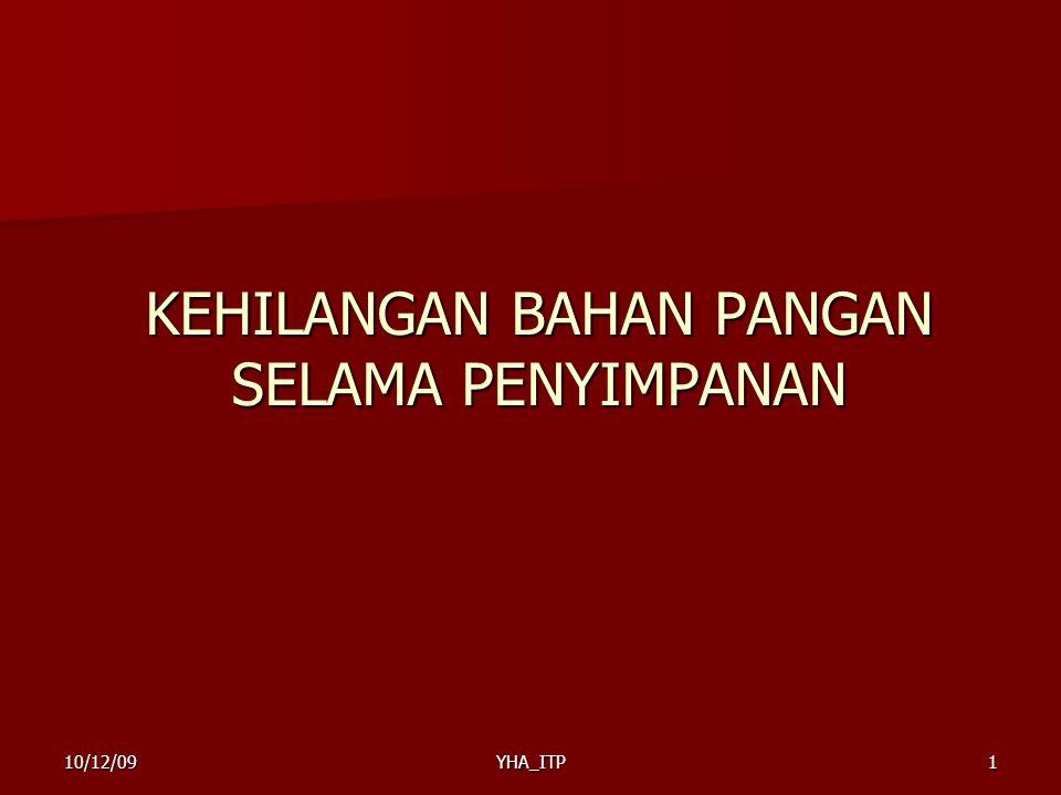 YHA_ITP1 KEHILANGAN BAHAN PANGAN SELAMA PENYIMPANAN 10/12/09