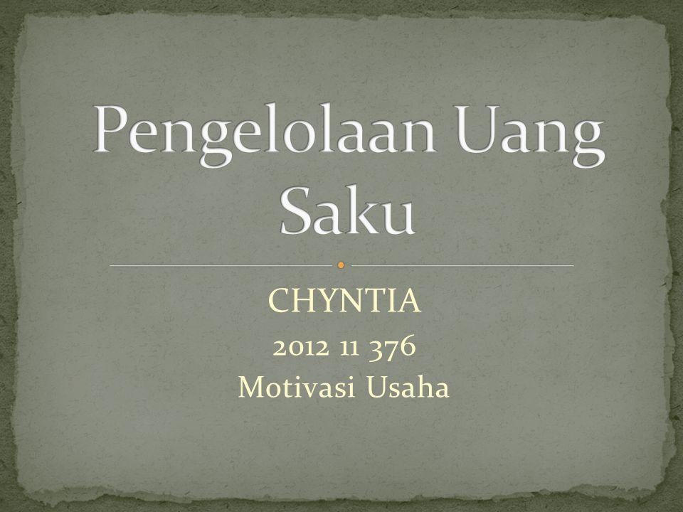 CHYNTIA 2012 11 376 Motivasi Usaha