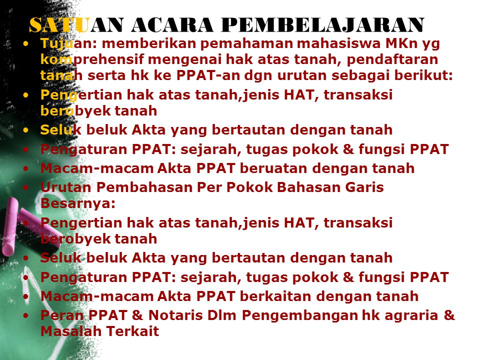 Pejabat Pembuat Akta Tanah (PPAT) 1.