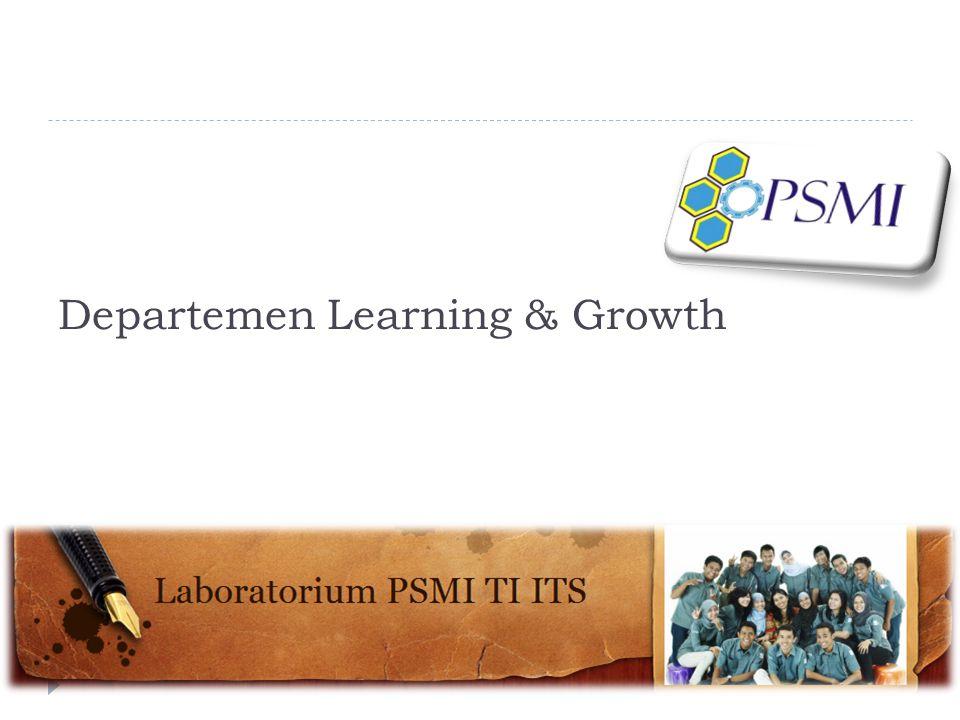Departemen Learning & Growth