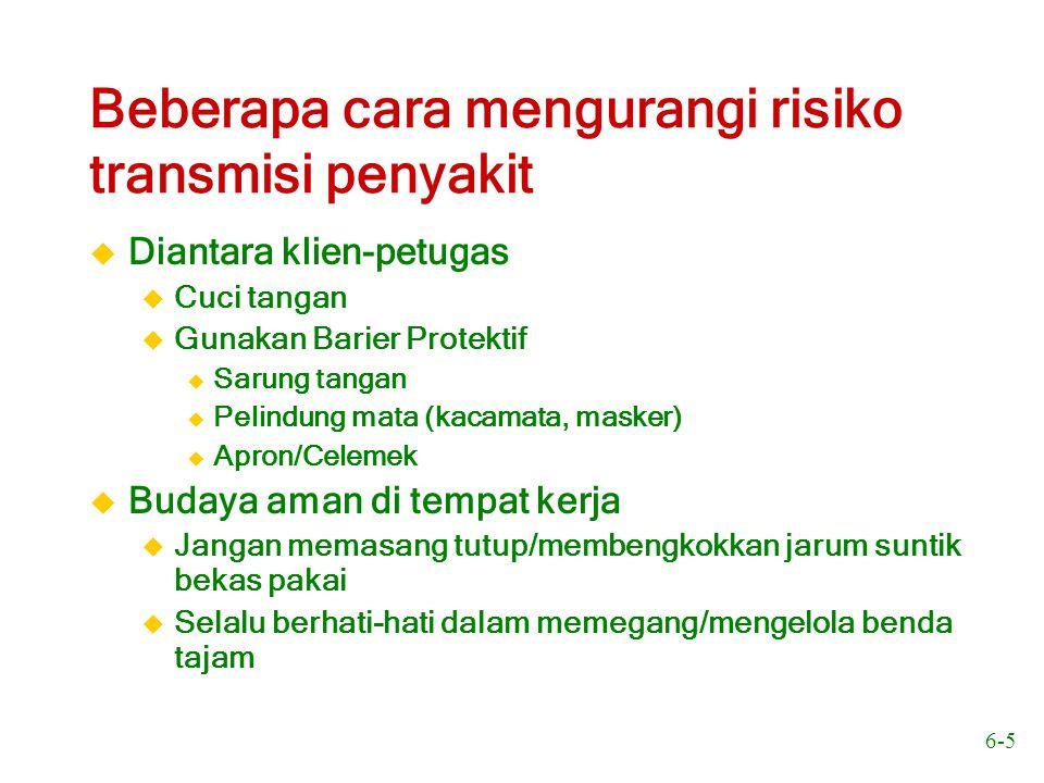 6-16 Per 1000 HIV-positif 0.000 0.002 0.004 0.006 0.008 0.010 0.012 0.014 0.016 1992 – 1993 1993 – 1994 1994 – 1995 1995 – 1996 1996 – 1997 1997 – 1998 1998 – 1999 1999 – 2000 2000 – 2001 Sumber: National AIDS Programme, Indonesia July 2002 Prevalensi HIV dalam darah donor di Indonesia pada tahun 1992-2001