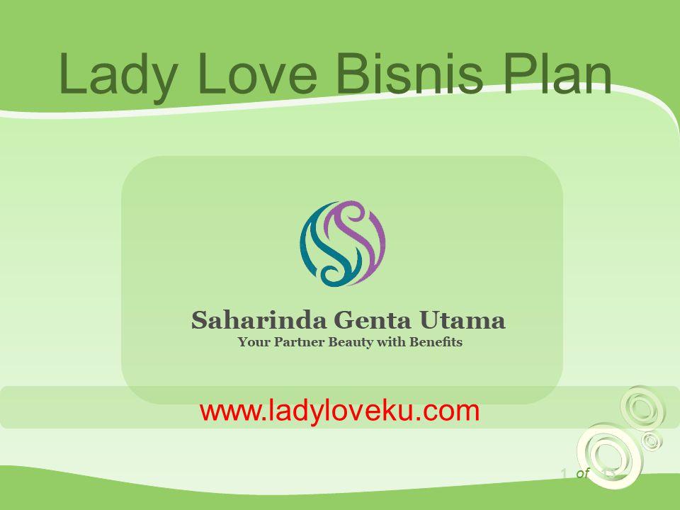 1 of 13 Lady Love Bisnis Plan www.ladyloveku.com