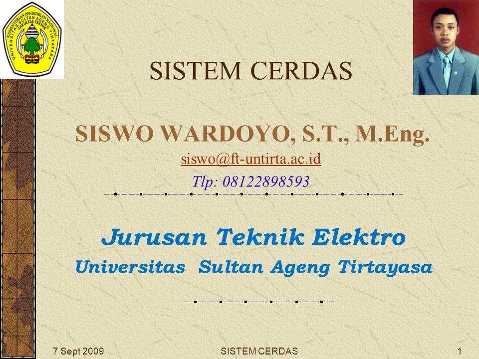 SISTEM CERDAS SISWO WARDOYO, S.T., M.Eng.