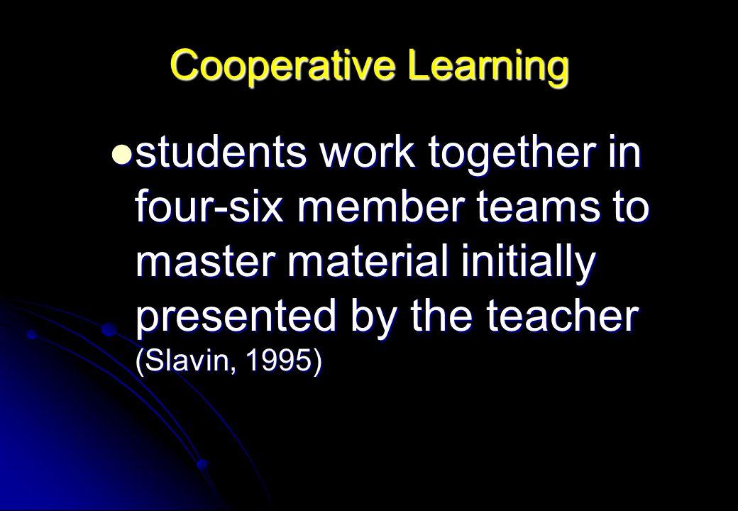 Cooperative Learning Prof. Dr. Ir. Suhardjono, MPd., Dipl. HE Disampaikan pada Pelatihan Peningkatan Pembelajaran Di Universitas Islam Balitas Minggu,