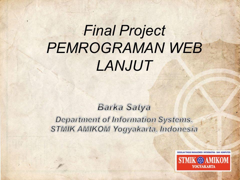 Final Project PEMROGRAMAN WEB LANJUT