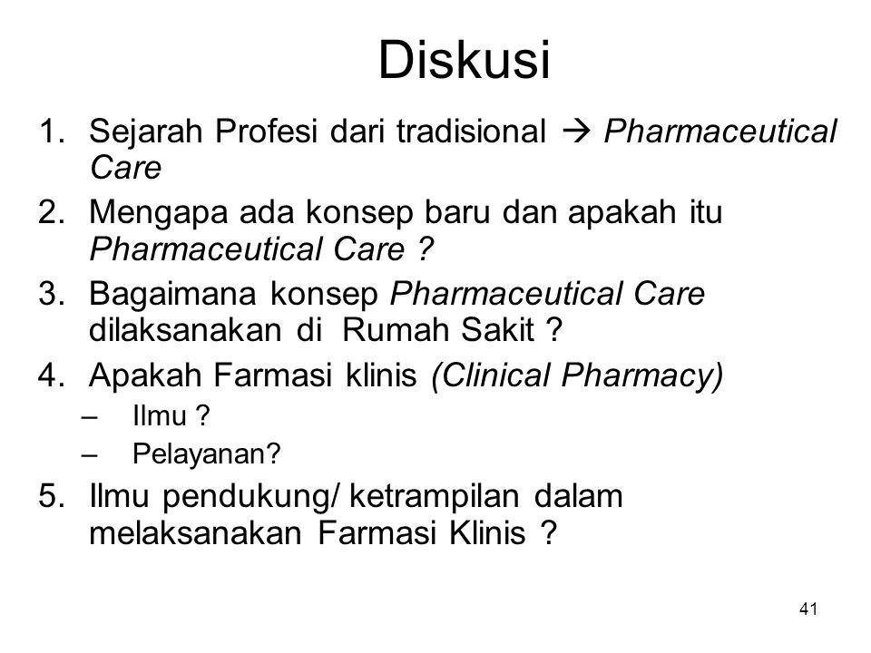 40 Pengenalan Farmasi Klinik (OVERVIEW)