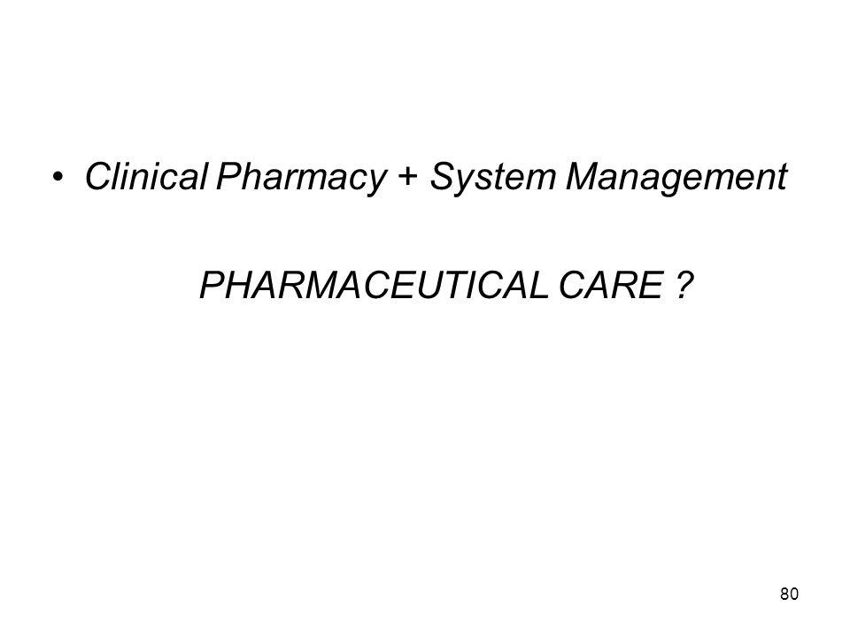 79, Pelayanan farmasi bagi pasien yang dilakukan oleh farmasis dengan tujuan terapi yang rasional (aman,cost effective) Dapat dilaksanakan di apotik,