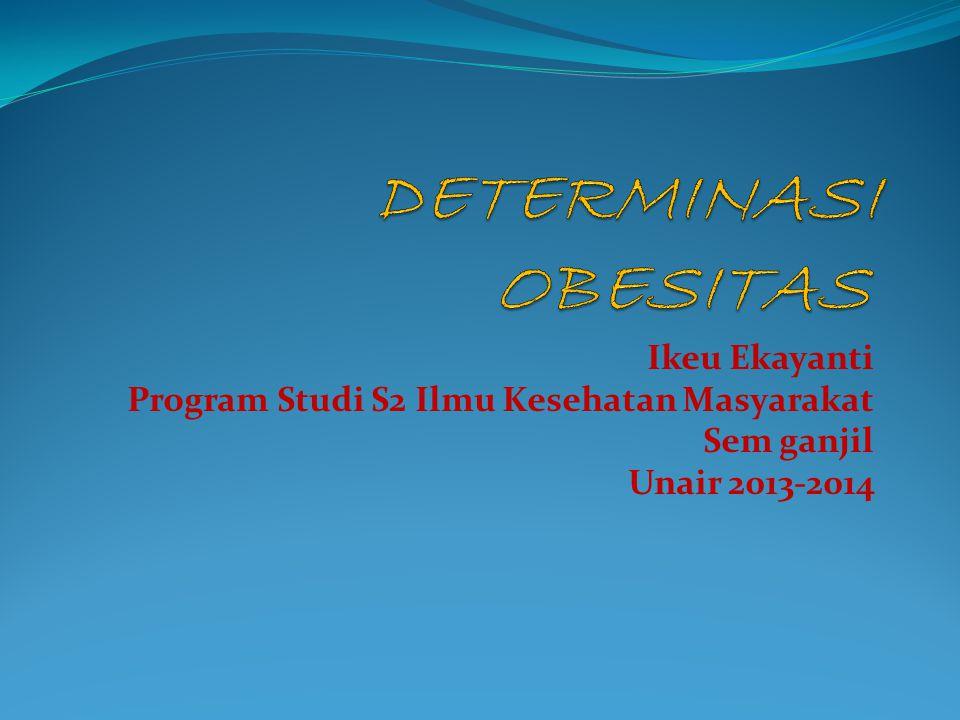 Ikeu Ekayanti Program Studi S2 Ilmu Kesehatan Masyarakat Sem ganjil Unair 2013-2014