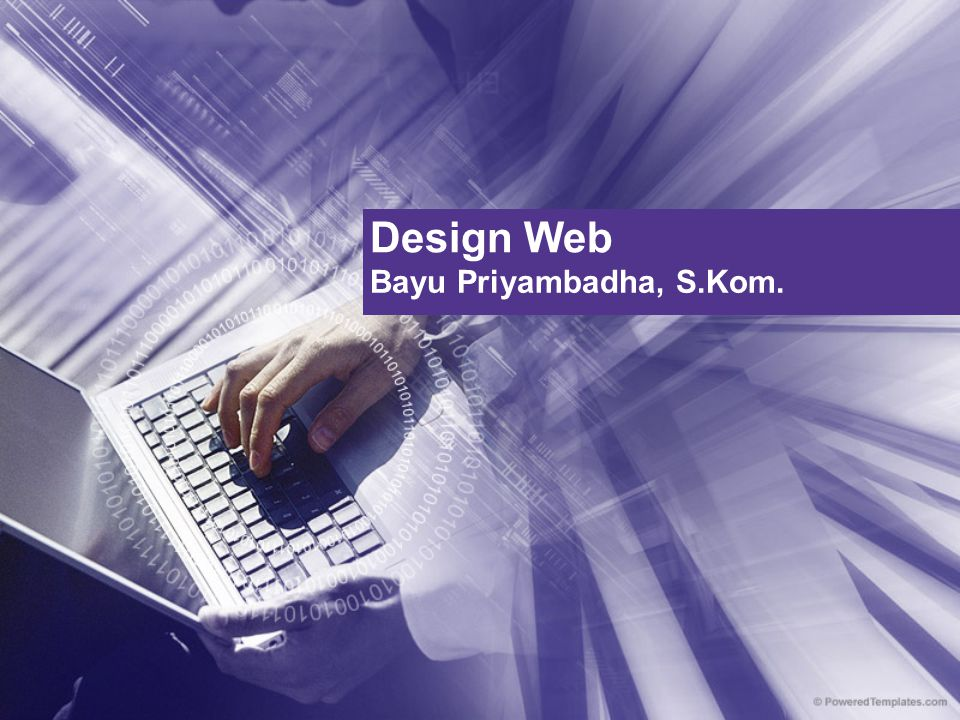 Design Web Bayu Priyambadha, S.Kom.