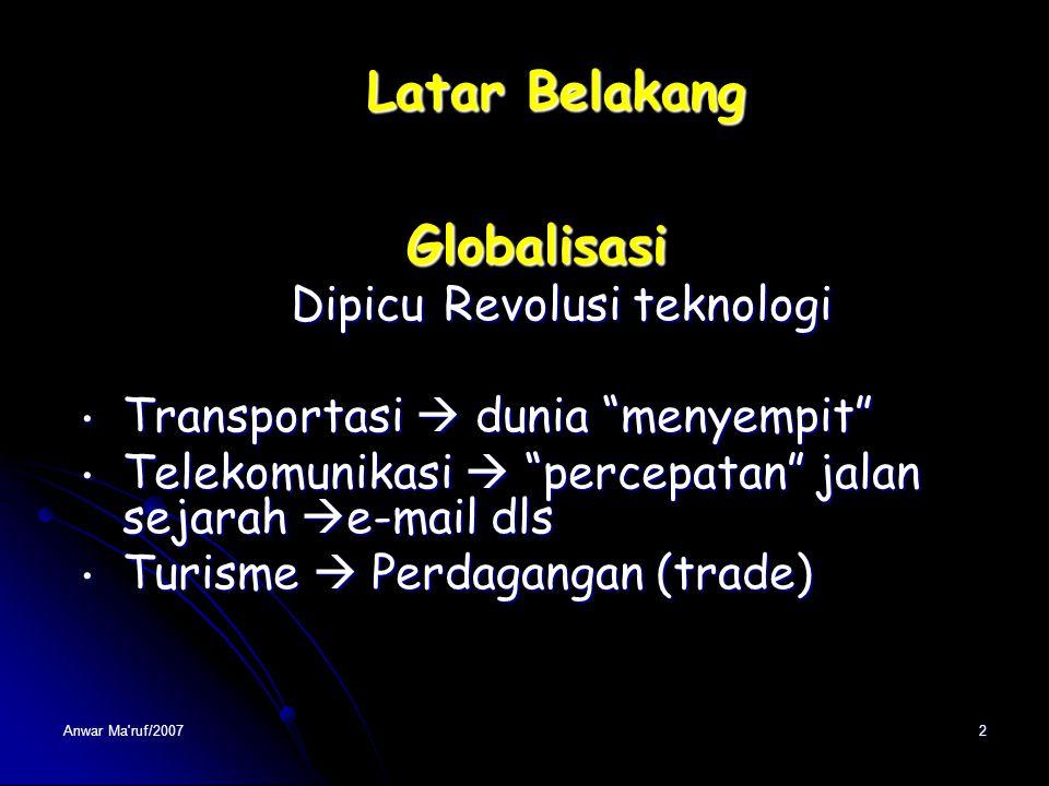 Pengantar Pendidikan Pancasila & Kewarganegaraan di Perguruan Tinggi Dr. Anwar Ma'ruf, M.Kes., drh