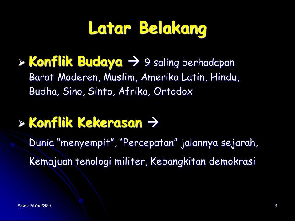 Anwar Ma'ruf/20073 Latar Belakang Dunia Tanpa Batas Warganegara  Warga Kosmopolit Warganegara  Warga Kosmopolit Multi National Corporation Multi Nat