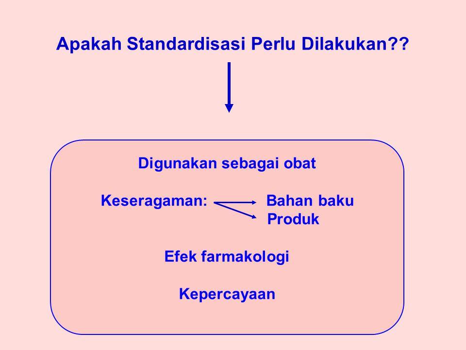 Apakah Standardisasi Perlu Dilakukan?.