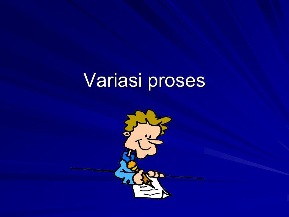 Variasi proses