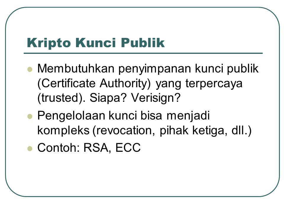 Penggunaan Kripto Kunci Publik Secure Socket Layer (SSL) HTTPS SSH STUNNEL Pretty Good Privacy (PGP) dan GNU Privacy Guard (GPG)
