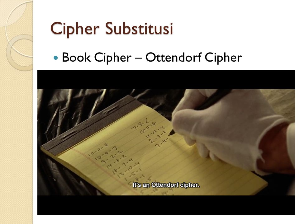 Book Cipher – Ottendorf Cipher