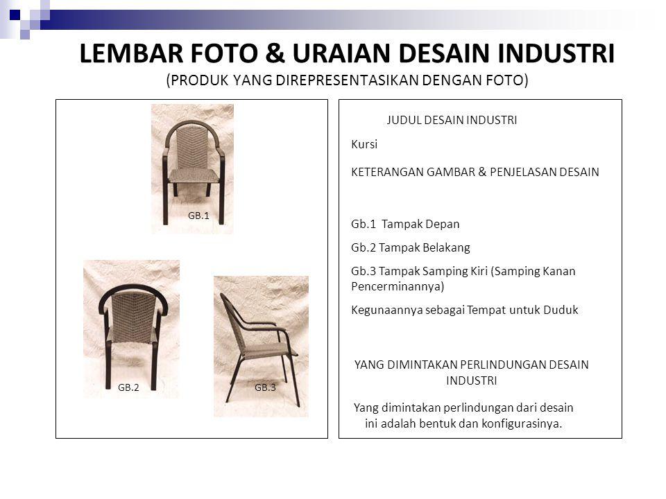 Pembatasan Desain Industri Suatu Desain Industri tidaklah dianggap telah diumumkan apabila dalam jangka waktu paling lama 6 (enam) bulan sebelum Tanggal Penerimaannya, Desain Industri tersebut: a.