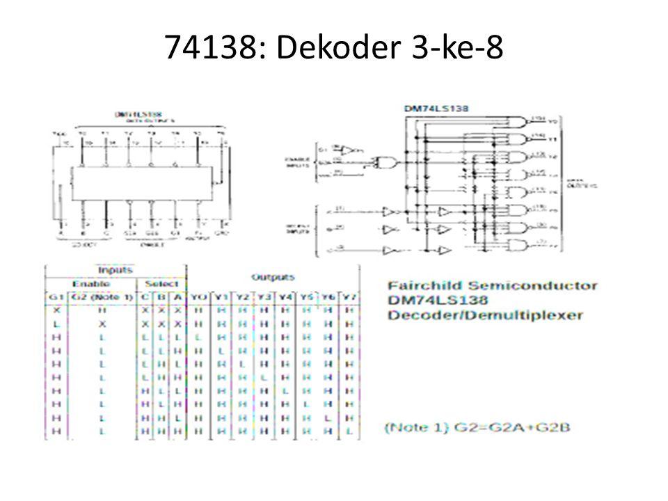 74138: Dekoder 3-ke-8