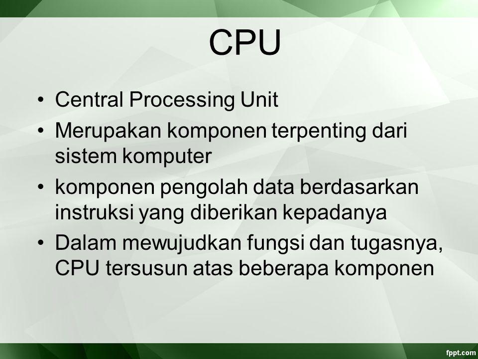 Sistem operasi kompleks Interupsi ganda (multiple interrupt).