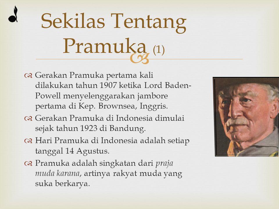   Jumlah anggota di Indonesia sekitar 21 juta anggota (sumber: kata sambutan Kak Azrul Azwar, Ka Kwarnas, di buku Aktivitas Pramuka).
