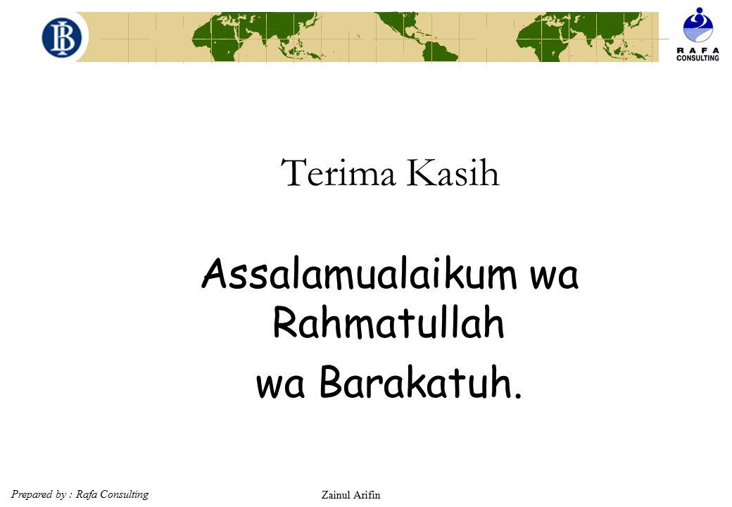 Prepared by : Rafa Consulting Zainul Arifin 83 Ijarah wa iqtina (Islamic Lease Purchase) SELLERLEASEE ISLAMIC BANK buyerLeasor 1 2 Delivery of object