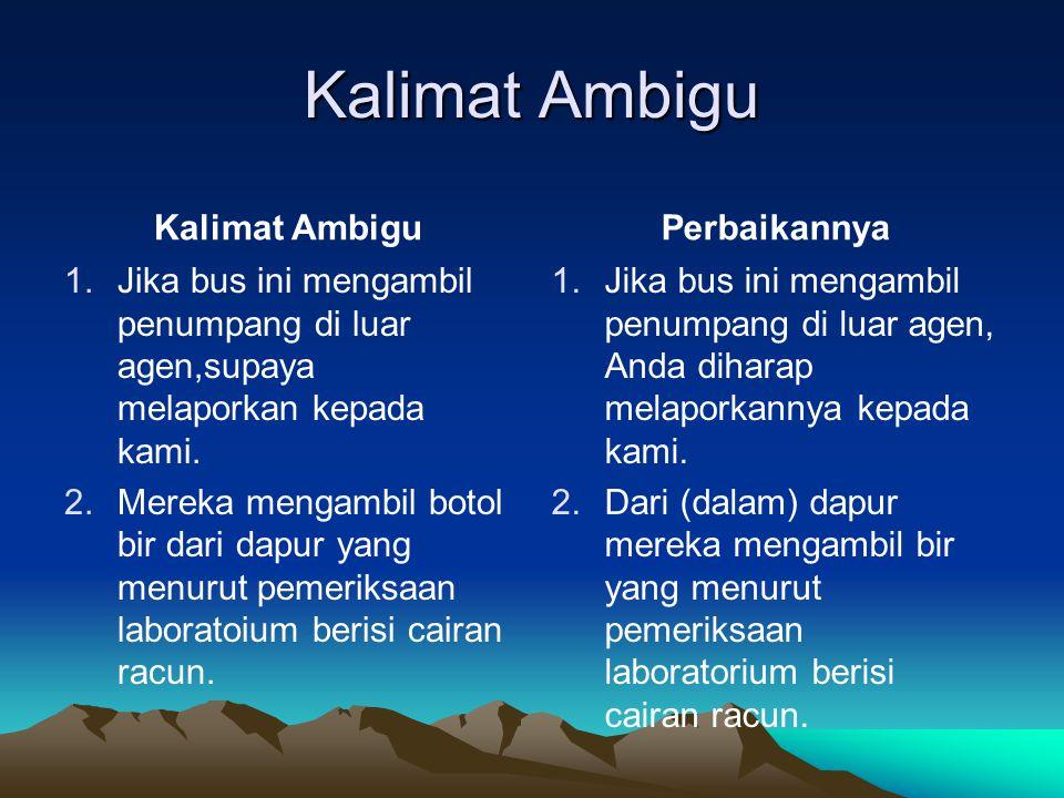 Syarat Karya Ilmiah 1.Komunikatif 2.Bernalar.