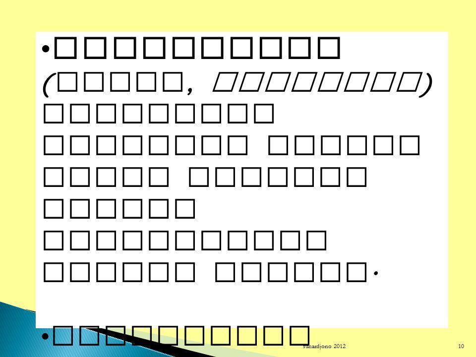 suhardjono 2012 9 Langkah metode (berpikir) ilmiah PenelitianPengembanganEvaluasi Perumusan masalah Bertujuan memperoleh pengetahuan (informasi) ilmia
