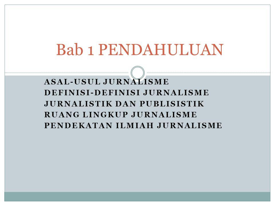 Apakah ada perbedaan jurnalisme dengan jurnalistik? Sering kali tidak dibedakan