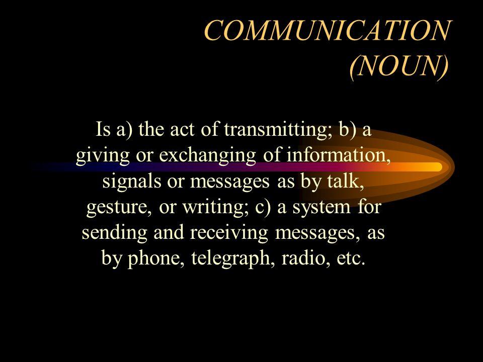 Tujuan Komunikasi