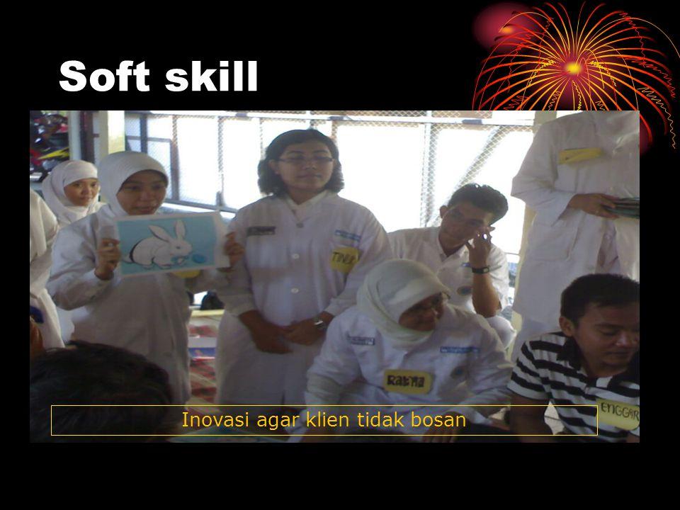 Soft skill Inovasi agar klien tidak bosan
