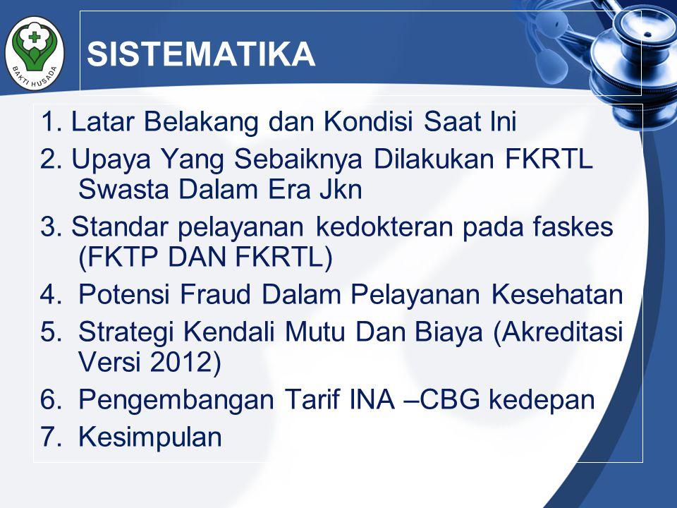Penerapan tarif INA CBG's di Indonesia sesuai dengan Perpres No.