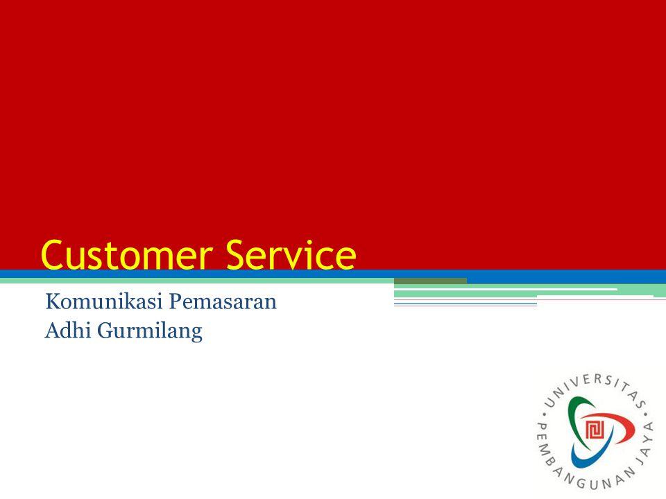 Customer Service Komunikasi Pemasaran Adhi Gurmilang 1
