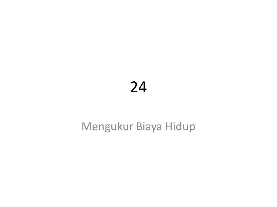 24 Mengukur Biaya Hidup