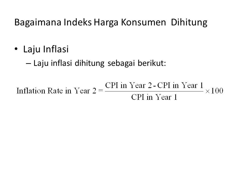 Bagaimana Indeks Harga Konsumen Dihitung Laju Inflasi – Laju inflasi dihitung sebagai berikut: