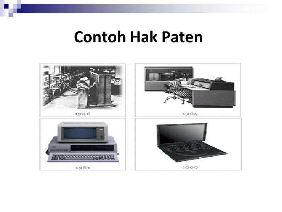 Contoh Hak Paten