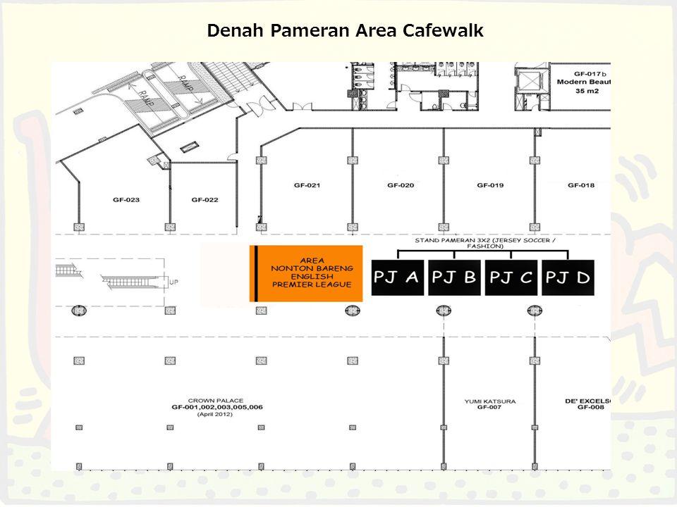 Denah Pameran Area Main Atrium & Promenade