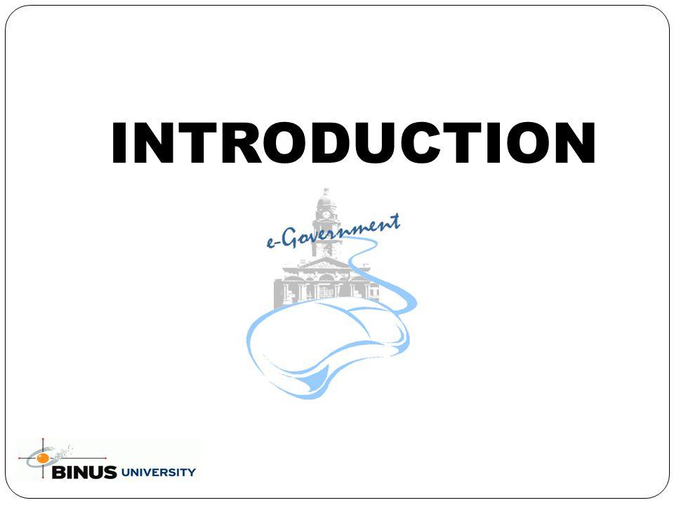 Introduction e-Gov.