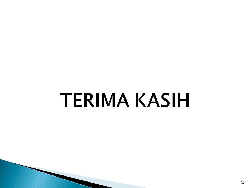 TERIMA KASIH 10